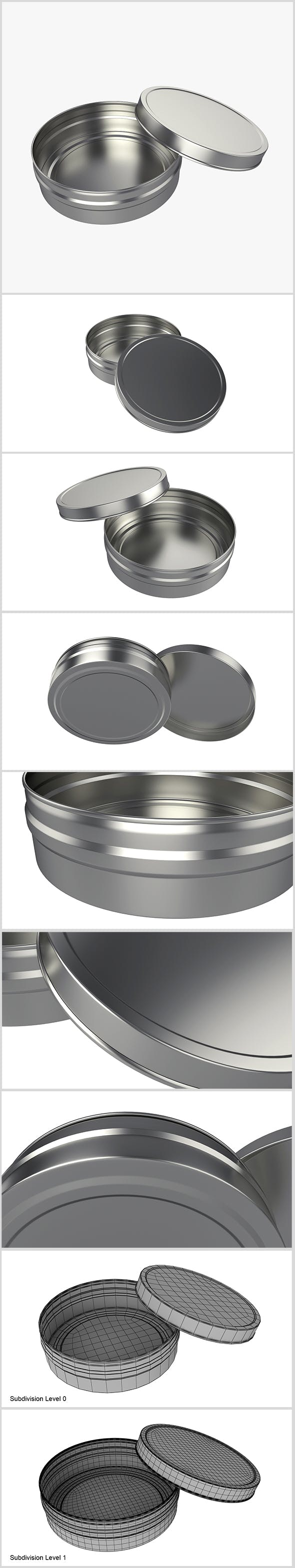 Metal can - 3DOcean Item for Sale