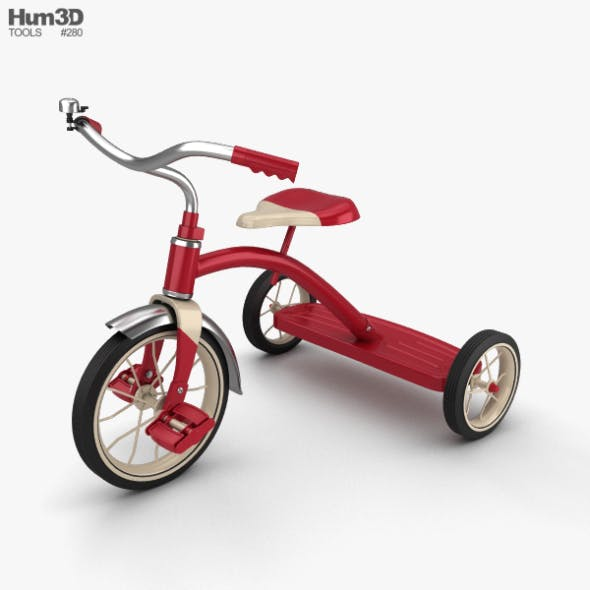 Tricycle - 3DOcean Item for Sale