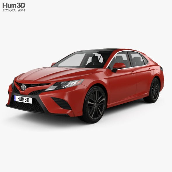 Toyota Camry (XV60) XSE with HQ interior 2017 - 3DOcean Item for Sale