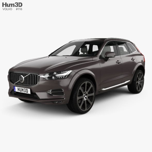 Volvo XC60 T6 Inscription with HQ interior 2017 - 3DOcean Item for Sale