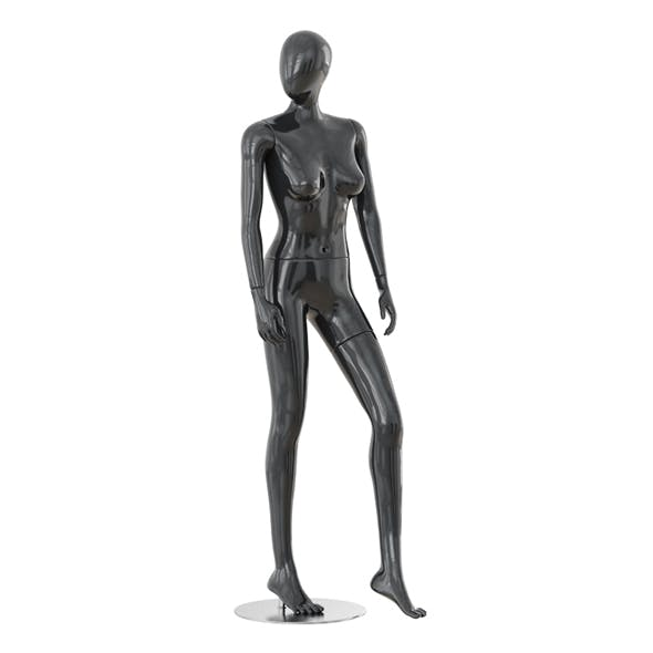 Abstract female mannequin 09 - 3DOcean Item for Sale