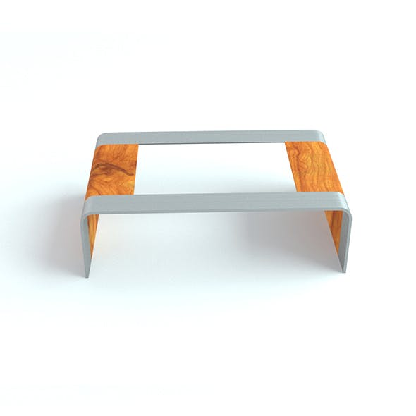 Low Poly Tea Table - 3DOcean Item for Sale