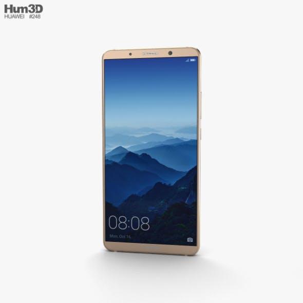 Huawei Mate 10 Pro Mocha Brown - 3DOcean Item for Sale