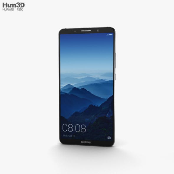Huawei Mate 10 Pro Titanium Gray - 3DOcean Item for Sale