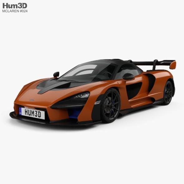 McLaren Senna 2019 - 3DOcean Item for Sale
