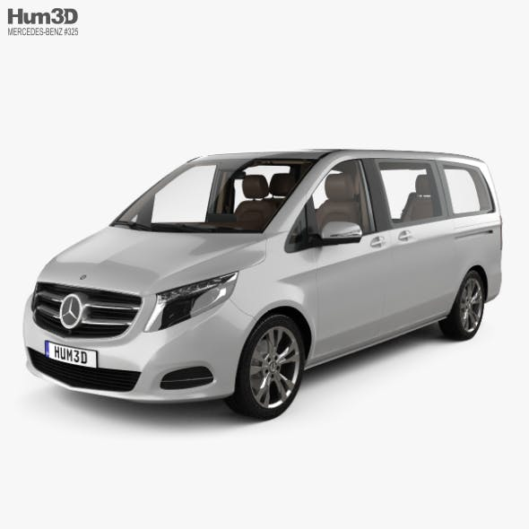 Mercedes-Benz V-class with HQ interior 2014 - 3DOcean Item for Sale