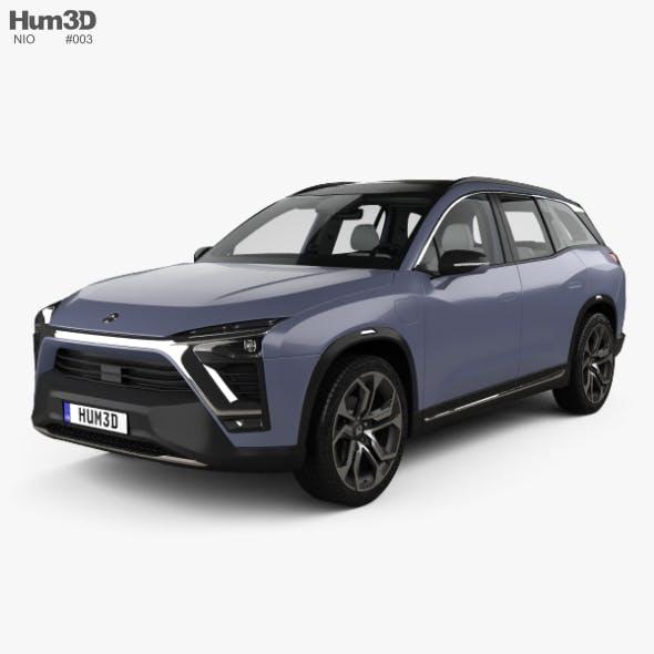 Nio ES8 with HQ interior 2018 - 3DOcean Item for Sale