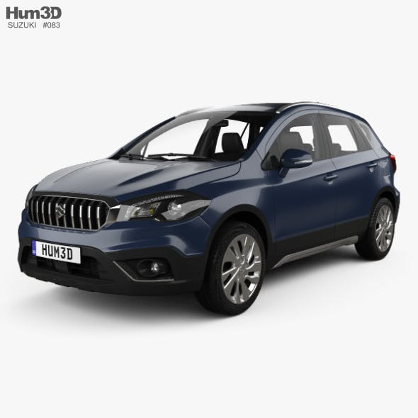Suzuki SX4 S-Cross with HQ interior 2016 - 3DOcean Item for Sale
