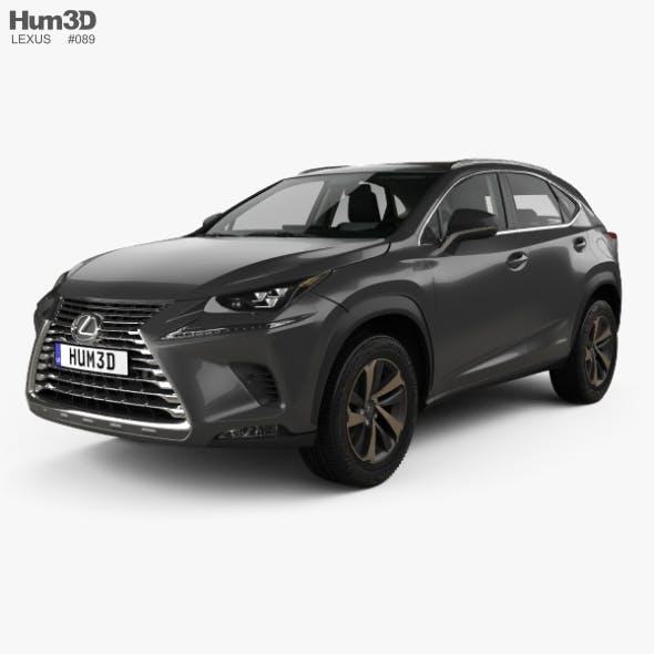 Lexus NX hybrid with HQ interior 2017