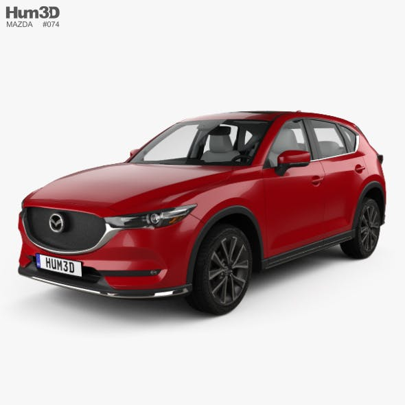 Mazda CX-5 (KF) with HQ interior 2017 - 3DOcean Item for Sale