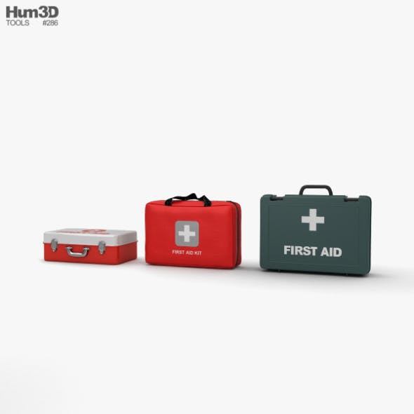 First Aid Kit - 3DOcean Item for Sale