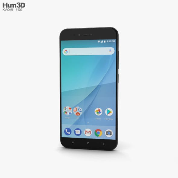 Xiaomi Mi A1 Black - 3DOcean Item for Sale