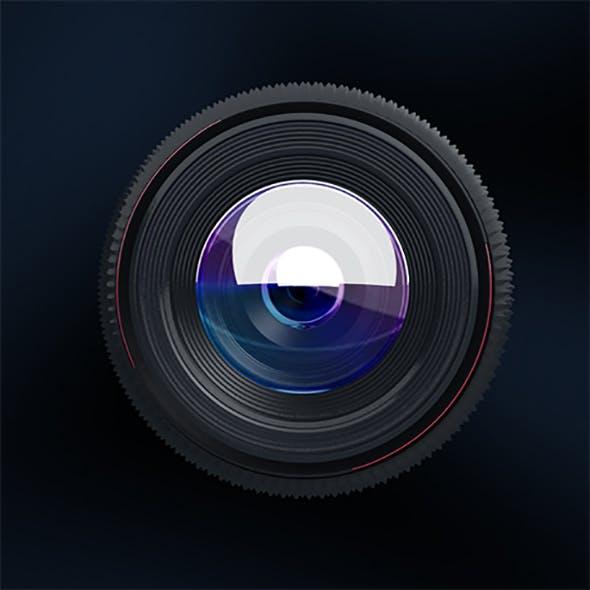 3d Lens - 3DOcean Item for Sale