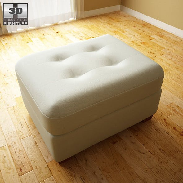 Ashley Zia - Spa Ottoman