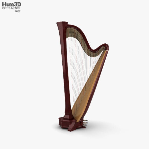 Harp - 3DOcean Item for Sale