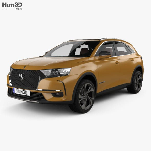 DS 7 Crossback with HQinterior 2017 - 3DOcean Item for Sale