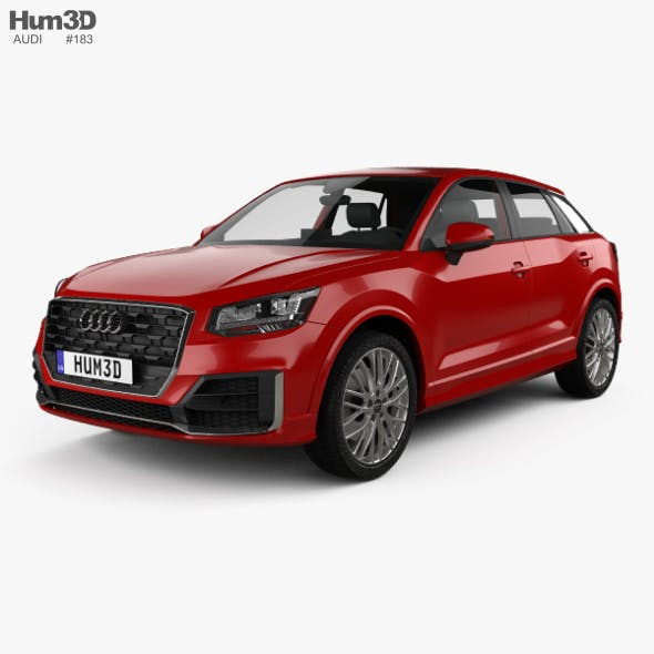 Audi Q2 S-Line with HQ interior 2017
