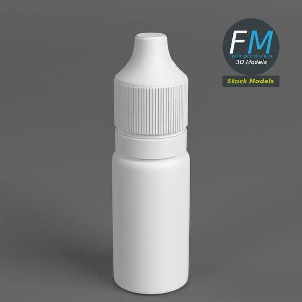 Opaque dropper bottle 2
