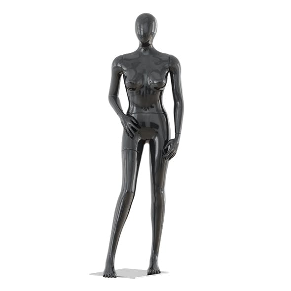 Abstract female mannequin 11
