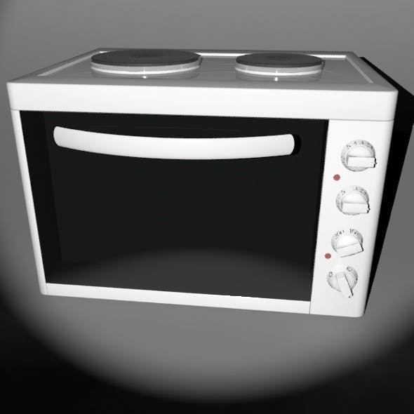 Small kitchen oven - 3DOcean Item for Sale