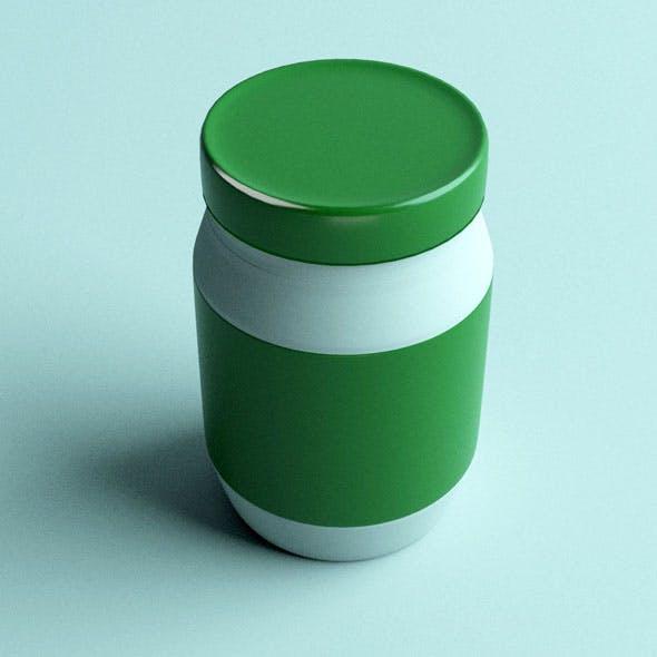 Jar 04 - 3DOcean Item for Sale