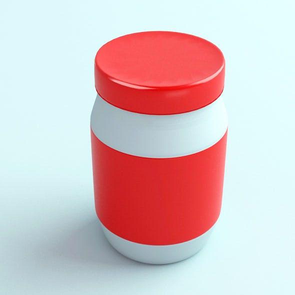 Jar 06 - 3DOcean Item for Sale