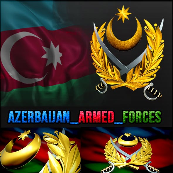 3D Armed Forces of Azerbaijan