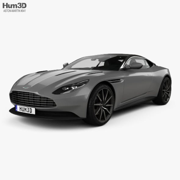 Aston Martin DB11 with HQ interior 2017 - 3DOcean Item for Sale
