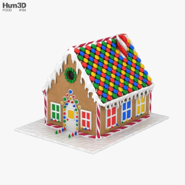 Gingerbread House - 3DOcean Item for Sale