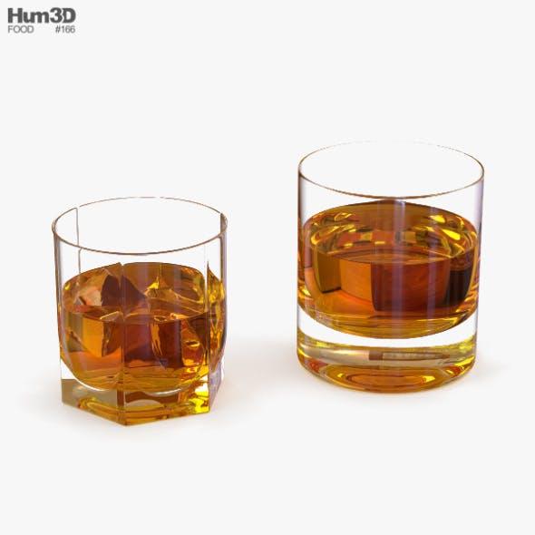 Whiskey Glasses - 3DOcean Item for Sale