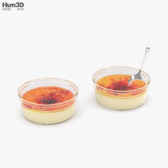 Creme Brulee - 3DOcean Item for Sale