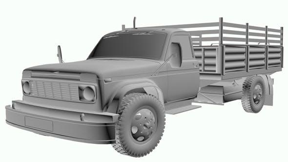 Hybrid Truck N-01 - 3DOcean Item for Sale