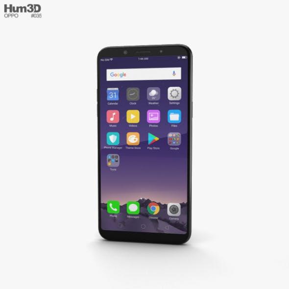 Oppo F5 Black - 3DOcean Item for Sale