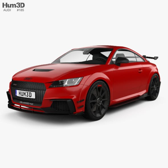 Audi TT RS coupe Performance Parts 2017 - 3DOcean Item for Sale