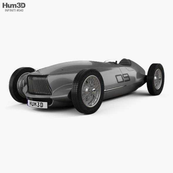 Infiniti Prototype 9 2017 - 3DOcean Item for Sale