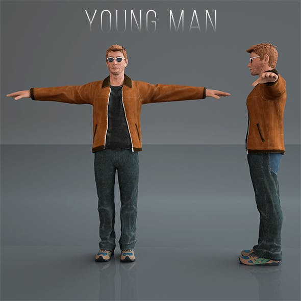 YOUNG MAN - 3DOcean Item for Sale