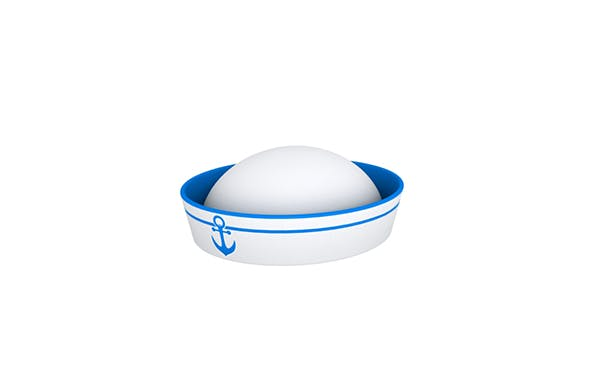 Sailor Hat - 3DOcean Item for Sale