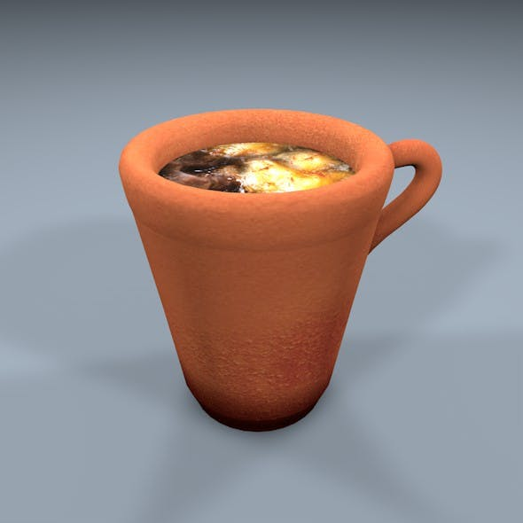 clay pot - 3DOcean Item for Sale