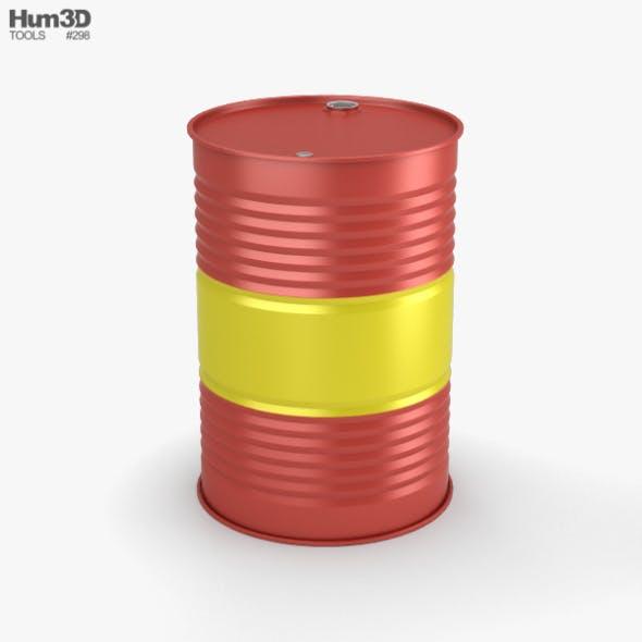 Oil Barrel - 3DOcean Item for Sale