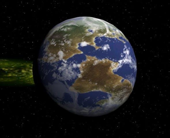 Planet Xzureo - 3DOcean Item for Sale