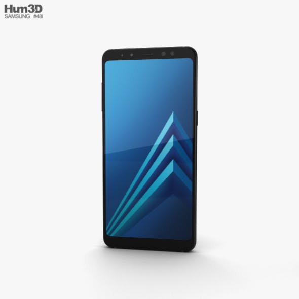 Samsung Galaxy A8 (2018) Black - 3DOcean Item for Sale