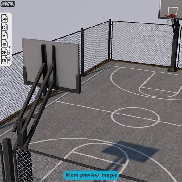 Basketball Stadium - 3DOcean Item for Sale