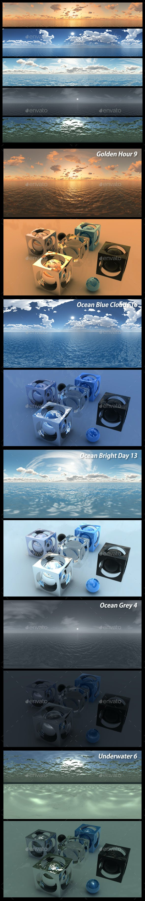 HDRI Pack 23 - 3DOcean Item for Sale