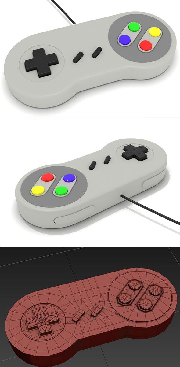 Gamepad Super Low-poly - 3DOcean Item for Sale