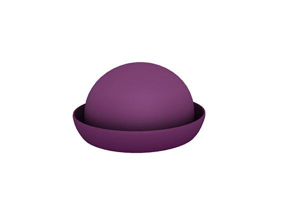 Women Bowler Hat - 3DOcean Item for Sale