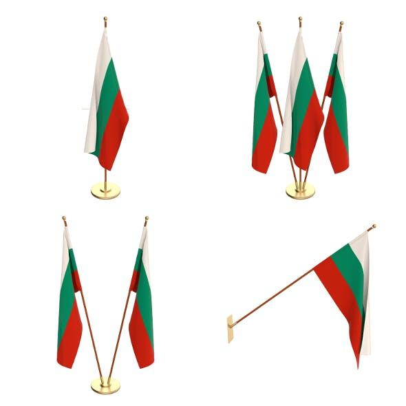 Bulgaria Flag Pack - 3DOcean Item for Sale