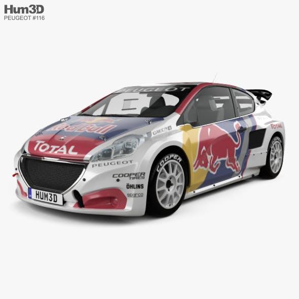 Peugeot 208 WRX 2018