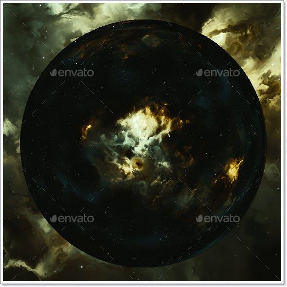 Nebula Space Environment HDRI Map 025