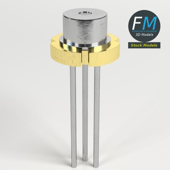 Laser diode - 3DOcean Item for Sale