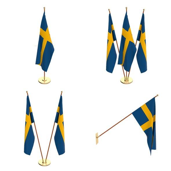 Sweeden Flag Pack